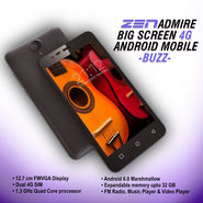 ZEN Admire Big Screen 4G Android Mobile (Buzz)