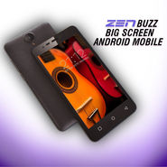 ZEN Buzz Big Screen 4G Android Mobile