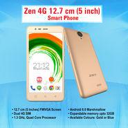 Zen 4G 12.7 cm (5 inch) Smart Phone