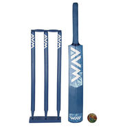 AVM Blue Cricket Kit - Size 3