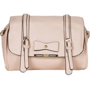Nova Artificial Leather Tan Shoulder Bag -gd23