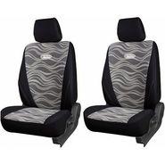 Branded Printed Car Seat Cover for Hyundai Verna - Black