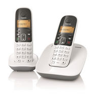 Gigaset A 490 DUO Cordless Phone - White