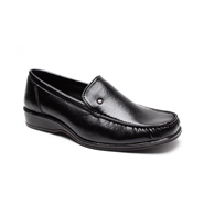 Foot n Style Faux Leather Formal Shoes  FS164 - Black