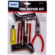 Autosky Tubeless Tyre Tire Puncture Repair Kit