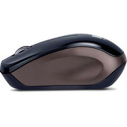 iBall FreeGo BT03 Bluetooth Wireless Mouse - Black & Brown