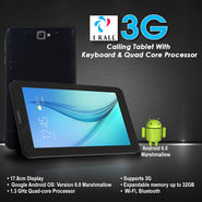 I Kall 3G Calling Tablet with Keyboard & Quad Core Processor