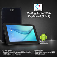 I Kall Calling Tablet with Keyboard (3 in 1)