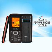 I Kall Feature Phone Set of 3 (K88)