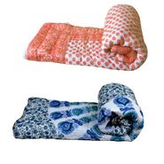 Set of 2 meSleep 100% Cotton Multi Double Bed Quilt-Quilt-09-10