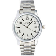 Mango People Analog Round Dial Watch For Men_mp020 - White