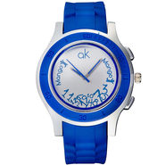 Mango People Analog Round Dial Watch For Unisex_mp039 - Blue