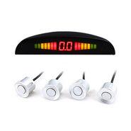 LED Display Reverse Car Parking Sensor - White