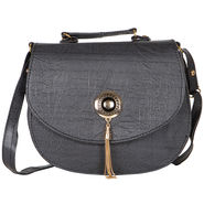 Nova PU Black  Sling Bag -gd41