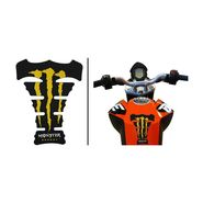 Monster Yellow Tank Pad for Bike