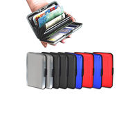 Scottish Club Set of 10 Stylish Aluminium Secure Wallets