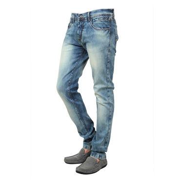 Branded Cotton Slim Fit Jeans_Dg - Blue