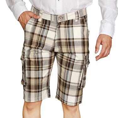 Sparrow Clothings Cotton Cargo Shorts_wjcrsht07 - Multicolor