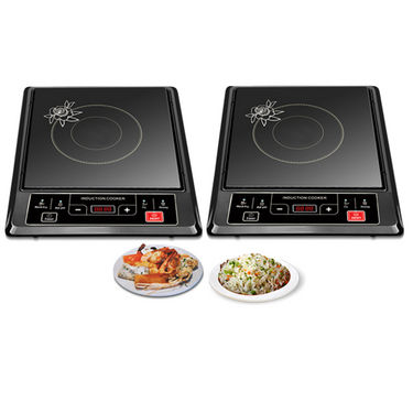 Set of 2 Branded Energy Efficient Induction Cooktop