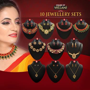 10 Jewellery Sets