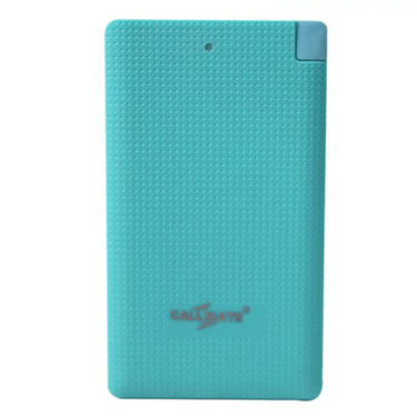 Callmate Power Bank Power Card 4000 mAh - Sky Blue