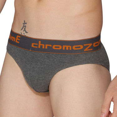 Pack of 3 Chromozome Regular Fit Briefs For Men_10015 - Multicolor
