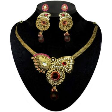 Kriaa Combo of 12 Ethnic Jewellery Set With Free Earring