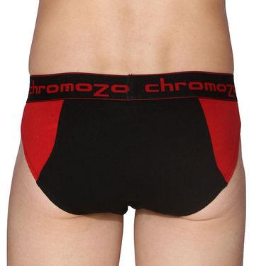 Pack of 3 Chromozome Regular Fit Briefs For Men_10035 - Multicolor