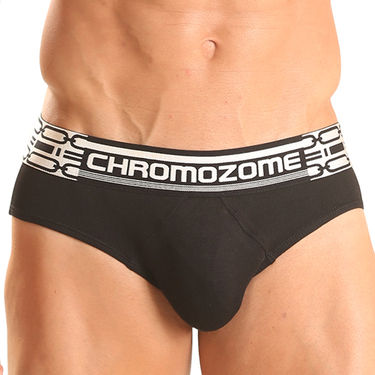 Pack of 3 Chromozome Regular Fit Briefs For Men_10088 - Multicolor