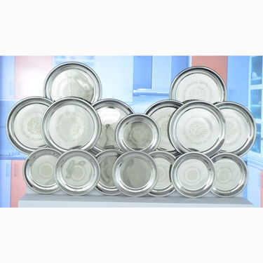 101 Pcs Stainless Steel Dinner Set