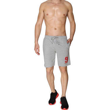 Chromozome Regular Fit Shorts For Men_10304 - Grey