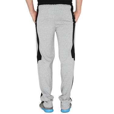 Chromozome Regular Fit Trackpants For Men_10425 - Grey