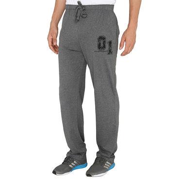 Chromozome Regular Fit Trackpants For Men_10435 - Grey