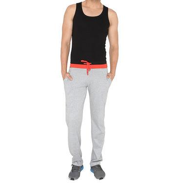 Chromozome Regular Fit Trackpants For Men_10484 - Grey