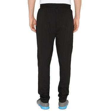 Chromozome Regular Fit Trackpants For Men_10514 - Black
