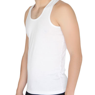 Chromozome Regular Fit Vest For Men_10544 - White