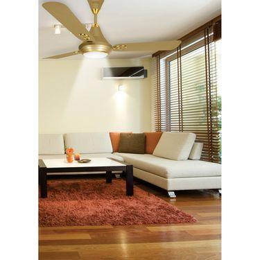 Luminous 1200MM Lumaire Underlight Ceiling Fan Silky Gold