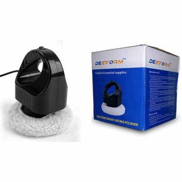Branded Car Mini Waxing & Polishing Machine (Black & White)