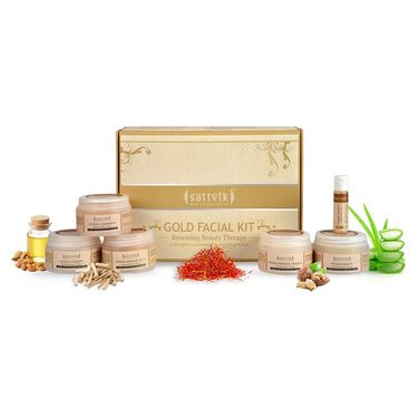 Sattvik Organic Gold Facial Kit - (410g)