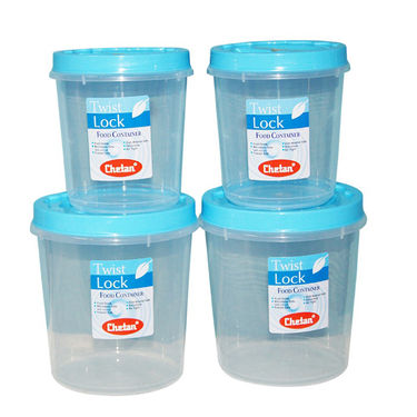 Chetan 12Pcs Twist Lock Kitchen Storage Container Set - Blue