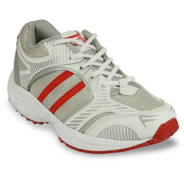 Bacca bucci-Rubber mesh-Sports Running shoes-White-3762