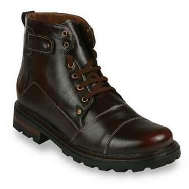 Bacca bucci-Faux leather-boots-Maroon-5821