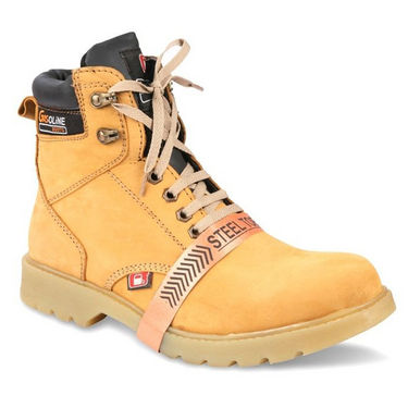 Bacca bucci Leather  Boots-Tan