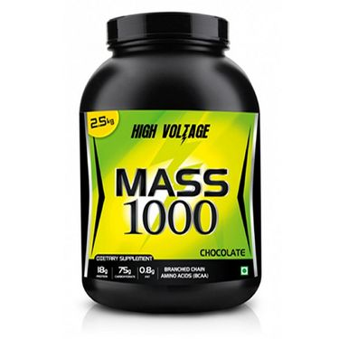 High Voltage Mass 1000 (2.5kg) - Chocolate Flavor