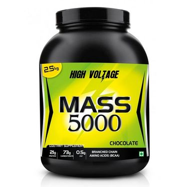 High Voltage Mass 5000 (2.5kg) - Chocolate Flavor