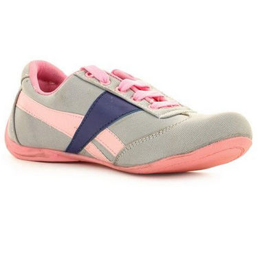 Ultimate PU Sports  GSB_S-3_Grey-Pink -  Grey