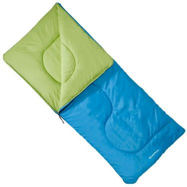 Quechua S20 Junior Hiking Sleeping Bag - Blue