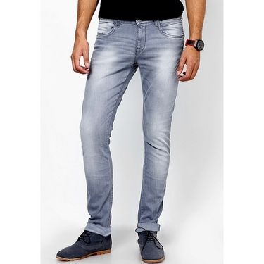 Branded Regular Fit Stylish Jeans For Men - Raymond Cotton Fabric_npjwz1 - Grey