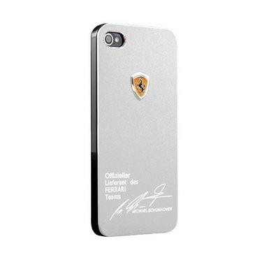 Callmate  Ferrari Aluminium Back Cover For iPhone 6 4.7inch - Silver
