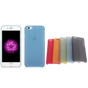 Callmate 5 pcs PP Back Case Combo for iPhone 6 4.7 inch with Free Screen Guard - Multi Color